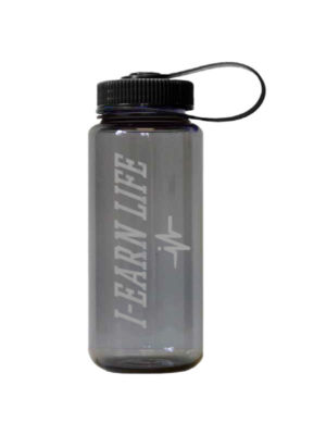 I-EarnLife Clear Plastic Water Bottle