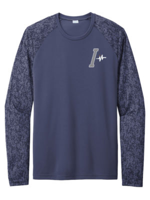 I-Earn Life Men's Navy Blue Long Sleeve Shirt